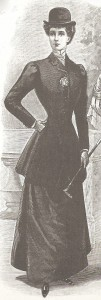 Victorian Riding Coat Fashion Plate