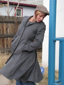 Wool Riding Coat