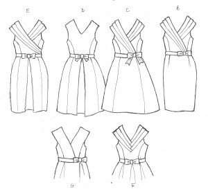 1950s Bridesmaids Dresses