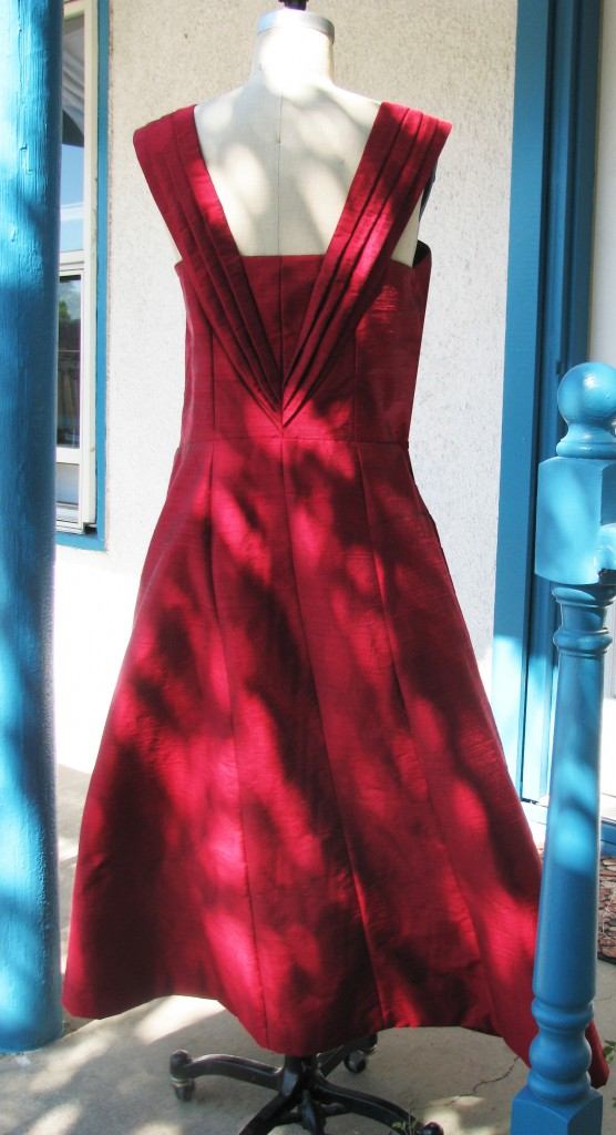Old Hollywood Wedding Dress Red