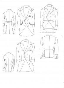 Victorian Womens Jackets
