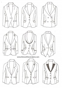 Women's Blazers and Tuxedos