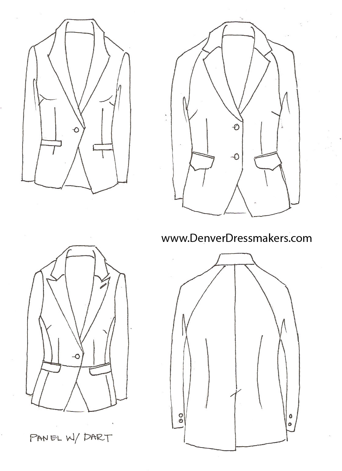 Womens suit denver dressmakers page 2 custom suits and tuxedos for women flashek Image collections