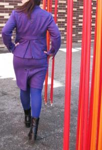 Houndstooth Women's Suit