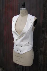 Womens Tuxedo Vest