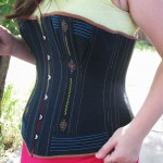 Hand Embroidered Corset