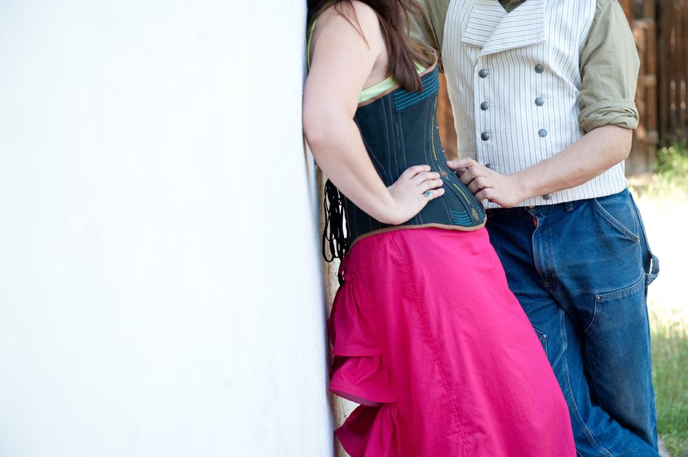 Steampunk Corset and Petticoat