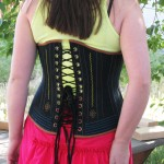 Lacing on Corset