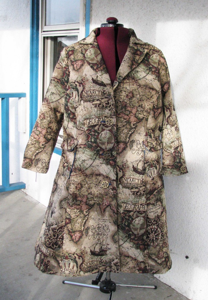 Old Map Coat