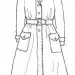 Edwardian Coat Sketch