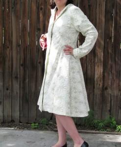 Custom Linen Coat