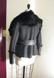 Custom Shearling Motorcycle Jacket
