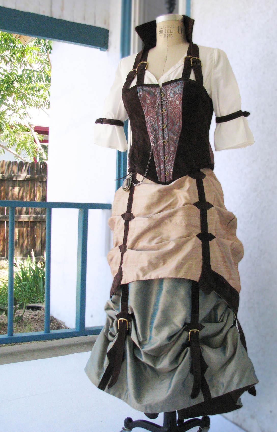 tag steampunk wedding dress steampunk wedding dresses Completely Custom Steampunk Wedding Gowns