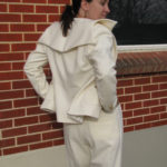 Women's White Wedding Suit