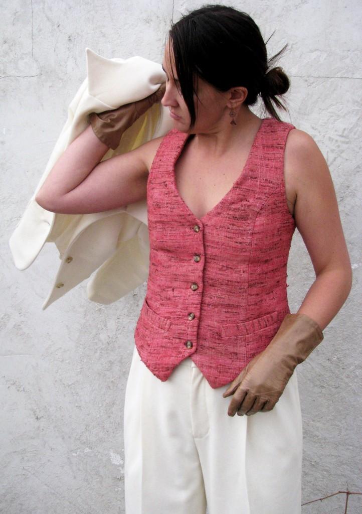 Women's Vest for Lesbian Wedding