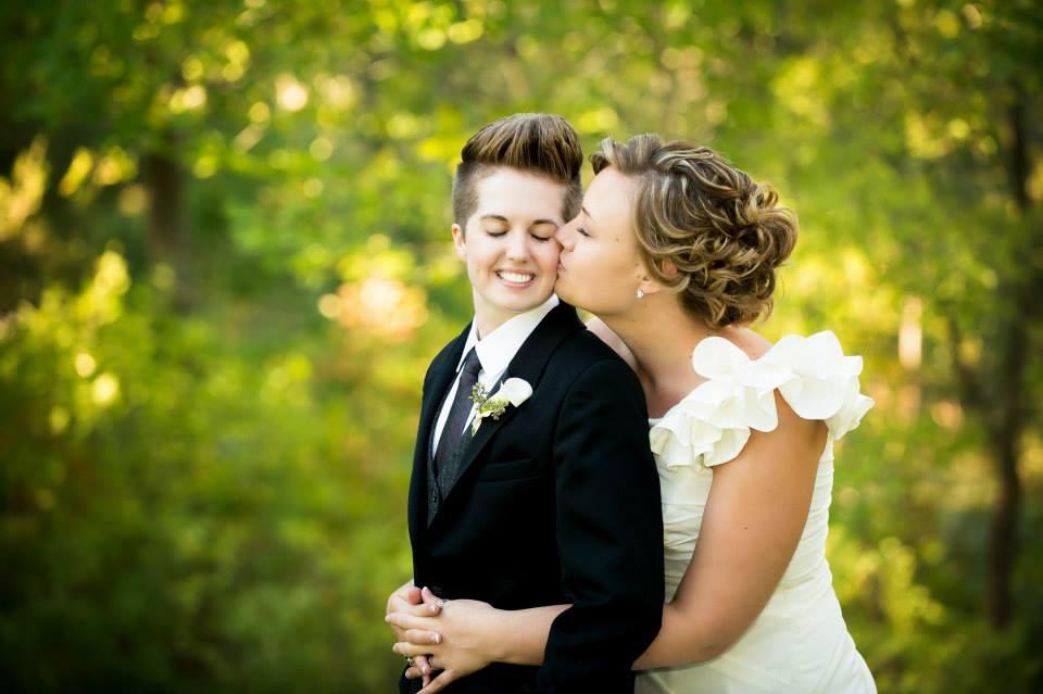 Lesbian Wedding Suit