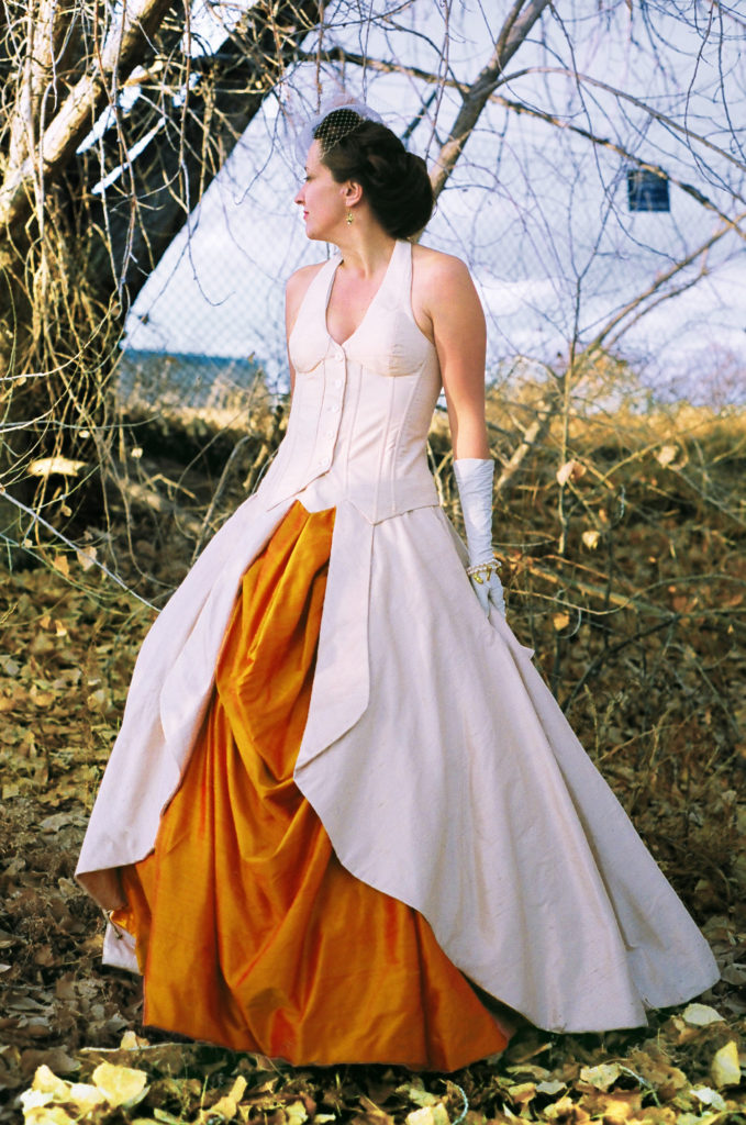 1950s Couture Ball Gown