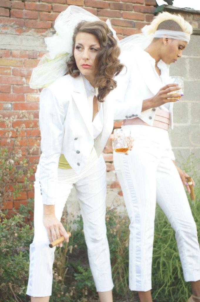 Lesbian Wedding Tuxedo