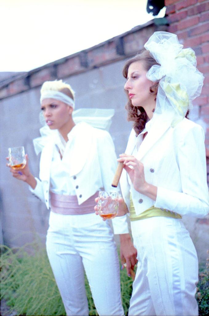 Lesbian Wedding Tuxdeo
