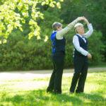 Dancing at Lesbian Wedding