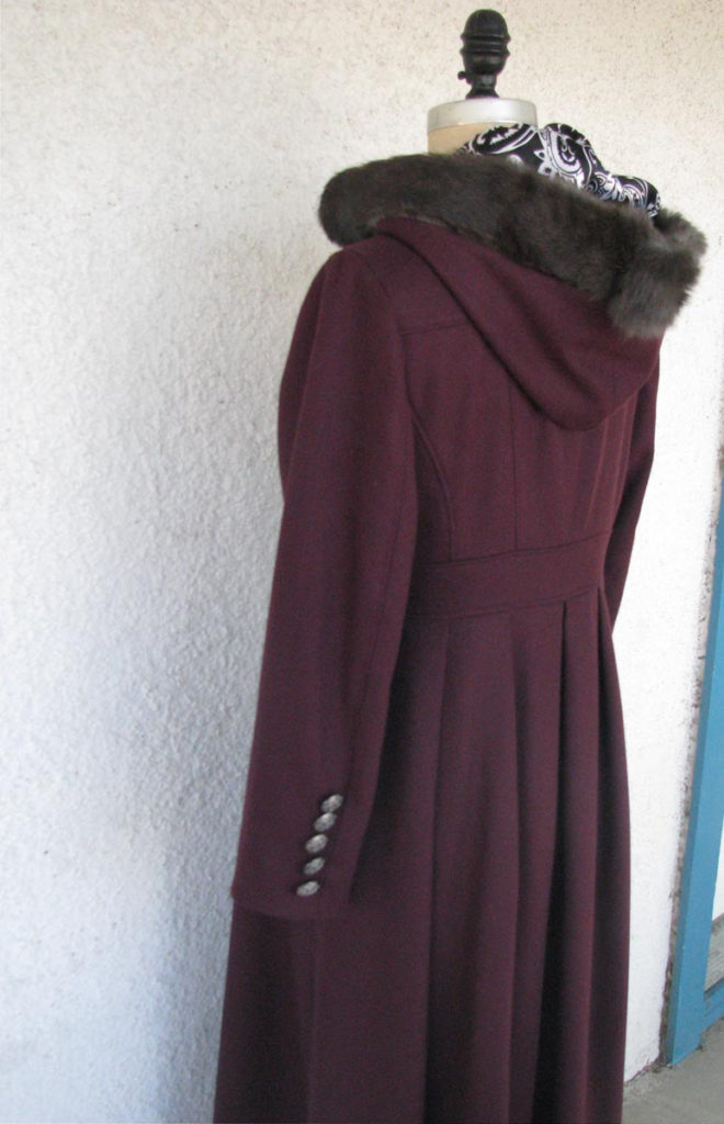 A Fur Trimmed Hood