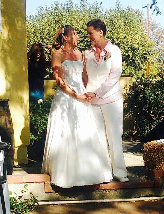 Lesbian Wedding Suit | Denver Dressmakers
