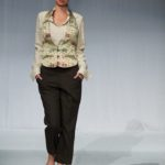 Brocade Tuxedo Vest and Cropped Pant