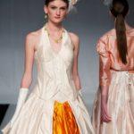 Silk Ballgown with Halter Neck