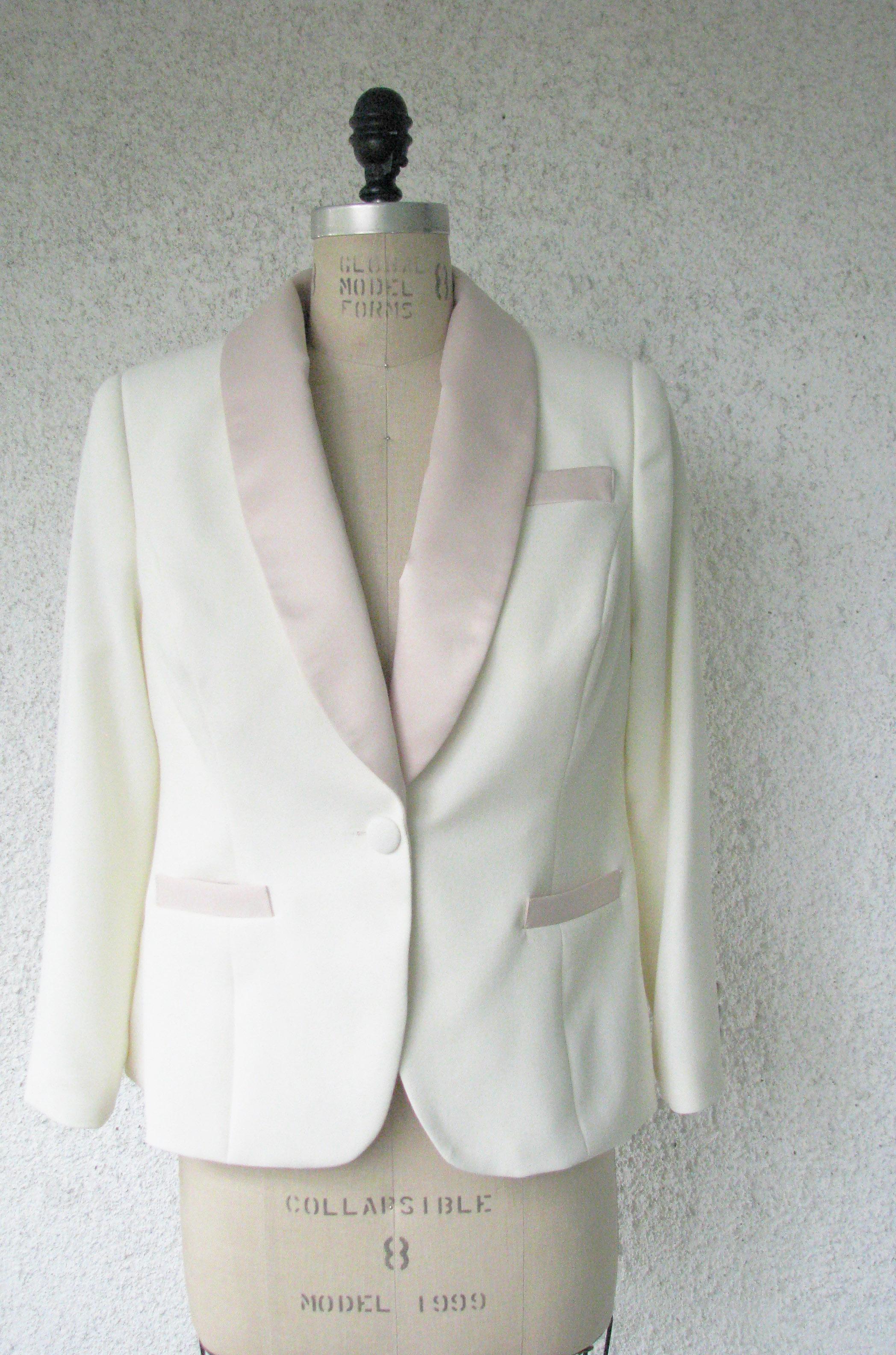 Blush Wedding Tuxedo