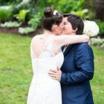 Lesbian Wedding in Suit