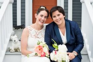 Lesbian Wedding Suit Butch Look