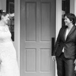 Navy Lesbian Wedding Suit