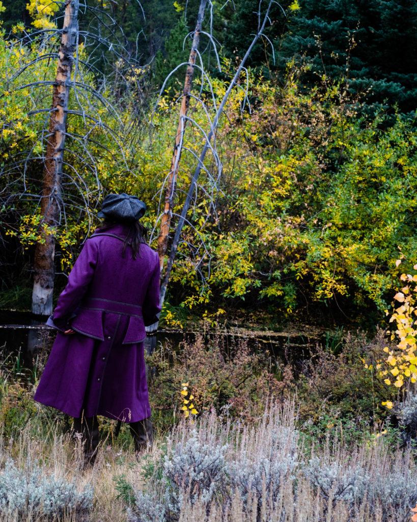 The Wandering Coat. A custom Coat for Women.